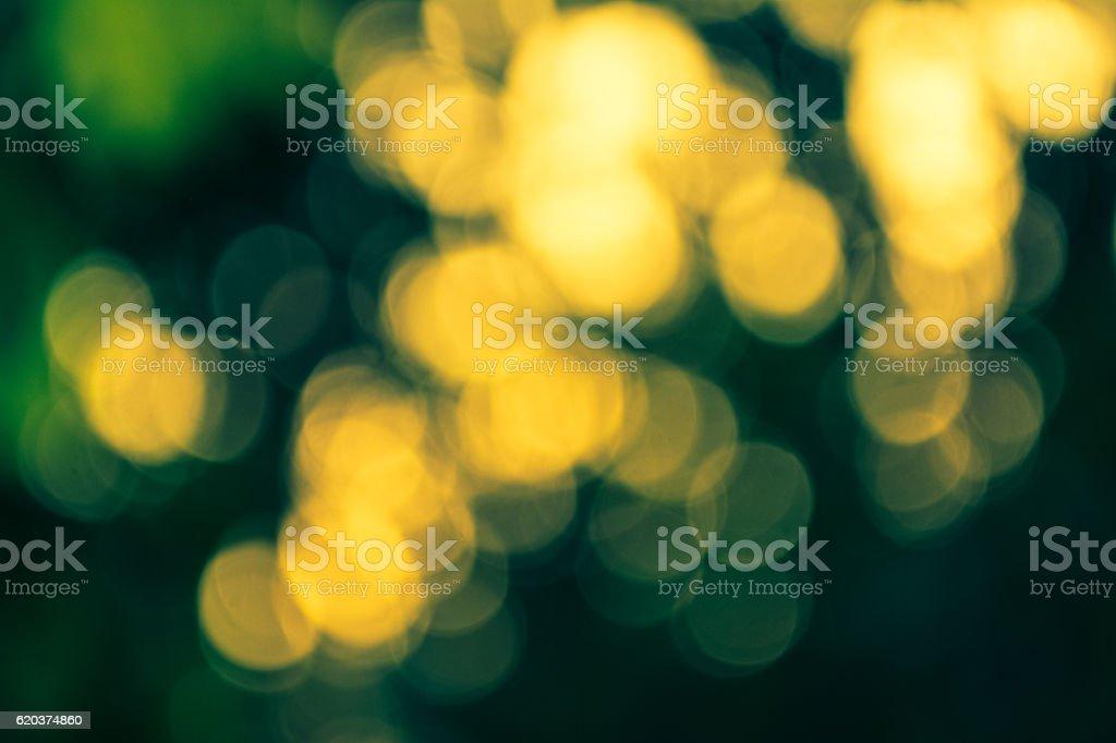 light gold and green bokeh background zbiór zdjęć royalty-free