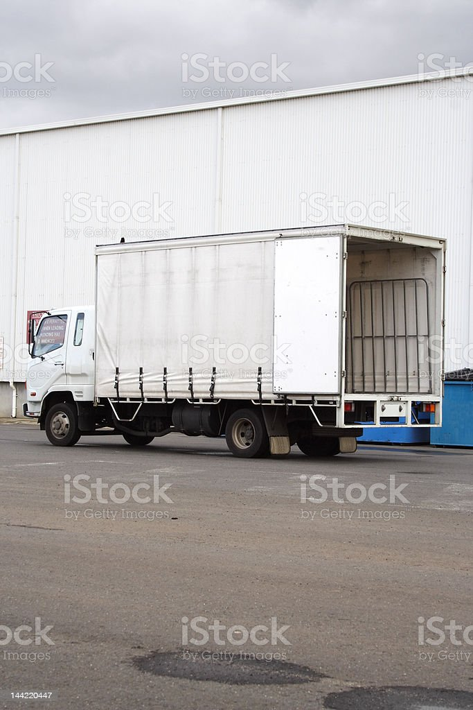 Light Goods Vehicle royalty-free stock photo
