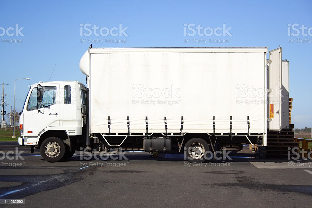 Light Goods Vehicle royalty-free stock photo