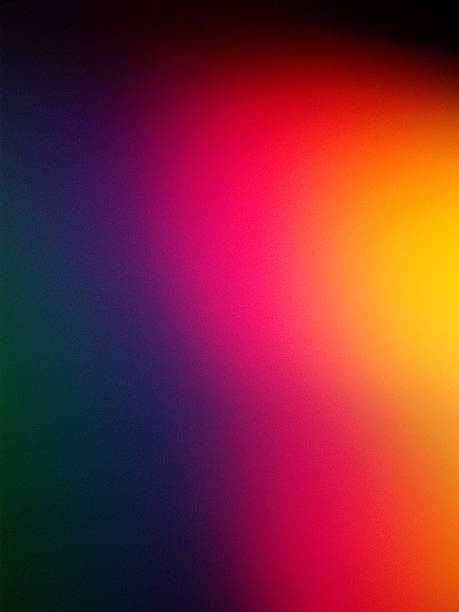 Light Gradient Background in Neon purple and Pink Warmly colored neon blue, purple and yellow light gradient suggesting spirituality, depth of emotion and energy. new age music stock pictures, royalty-free photos & images