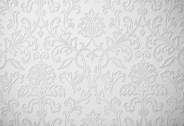 light gray baroque  background - baroque stock photos and pictures