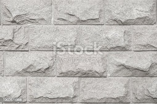 Light gray rough marble stone texture
