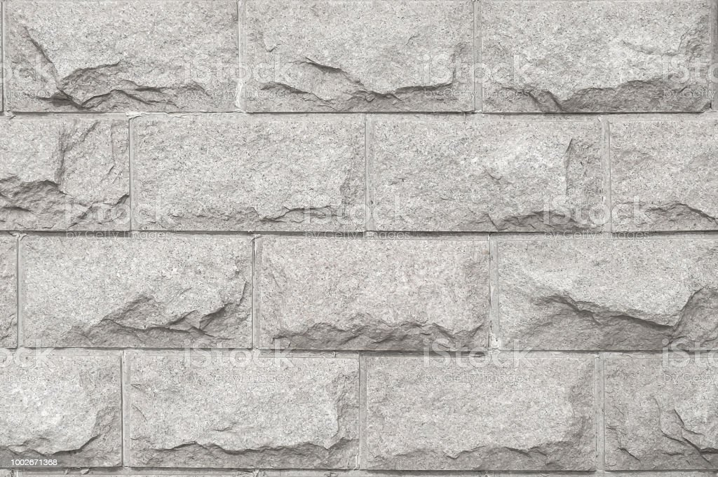 Light gray rough marble stone texture stock photo