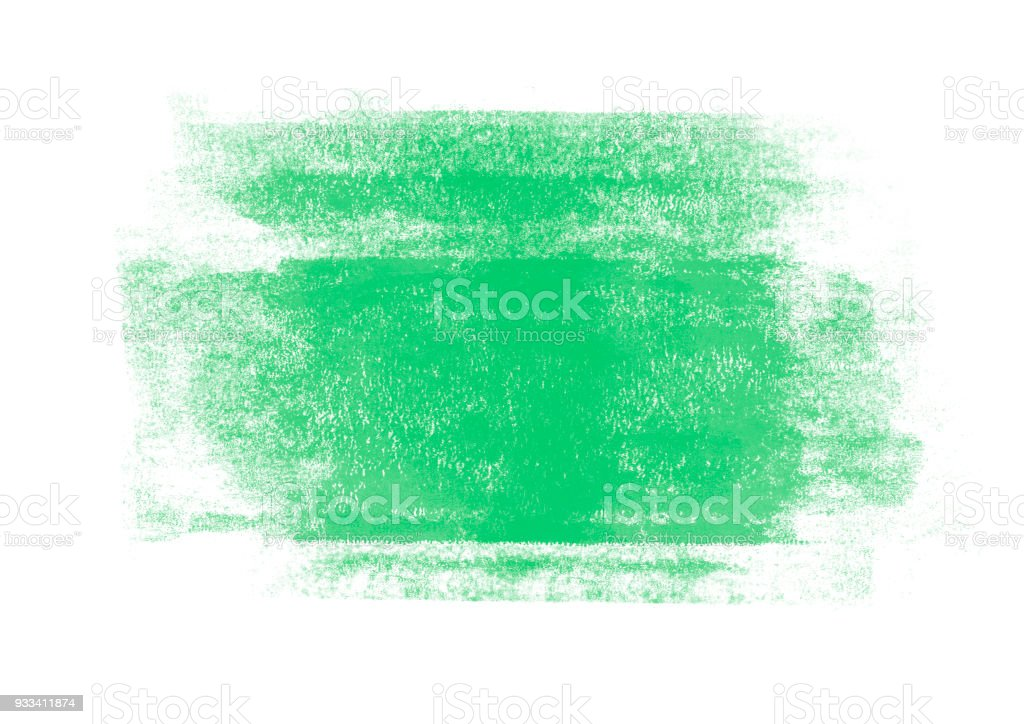Light green color graphic color brush strokes patches effect background stock photo