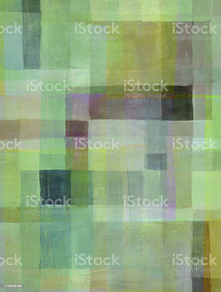 Light Green Painted Abstract royalty-free stock photo