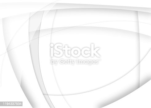 light grey and white abstract futuristic style background illustration