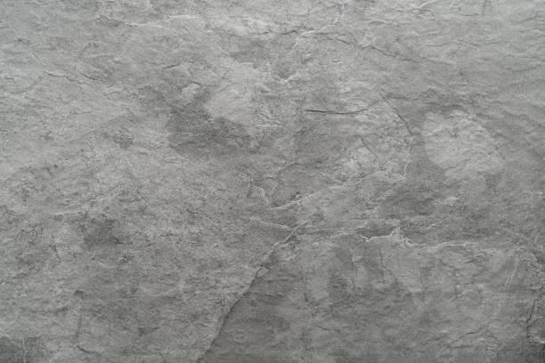 light grey black slate stone background or texture - mármore rocha imagens e fotografias de stock