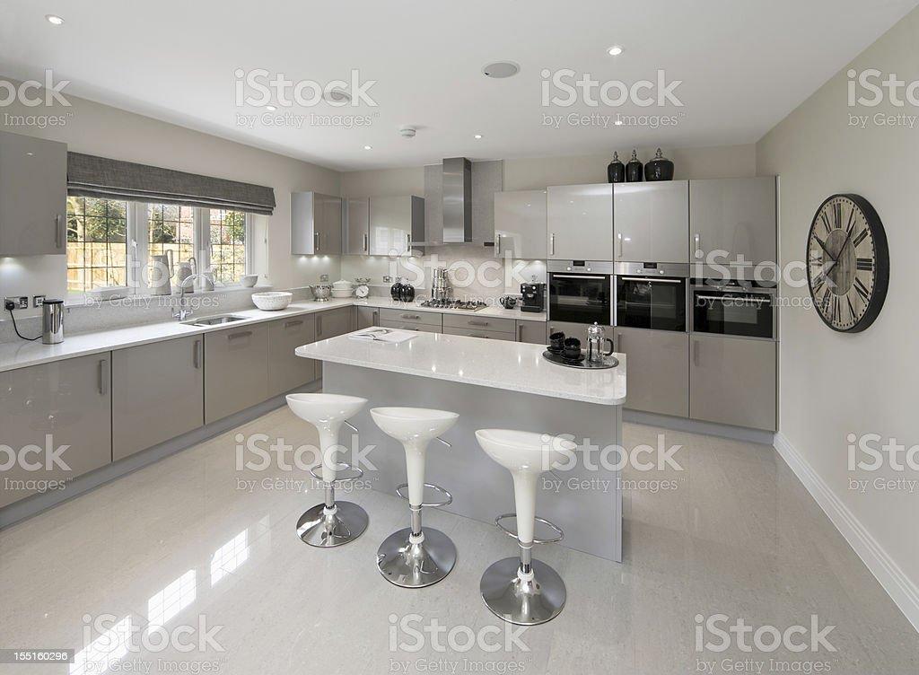 Light Grey Kitchen Stock Photo Download Image Now Istock