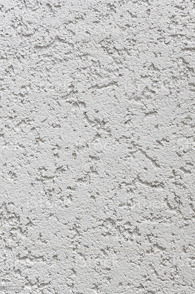 Light Grey Wall Stucco Texture, Detailed Natural Gray Coarse Rustic royalty-free stock photo