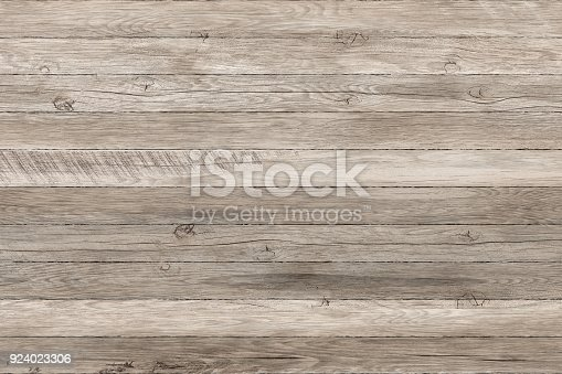 istock Light grunge wood panels. Planks Background. Old wall wooden vintage floor 924023306