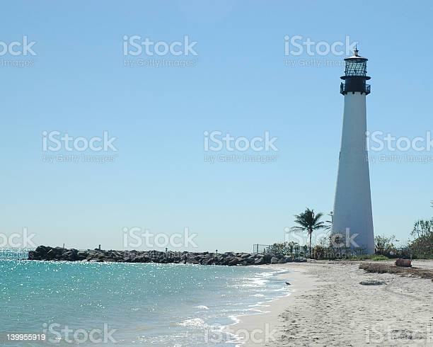 Light House at Key Biscayne Florida