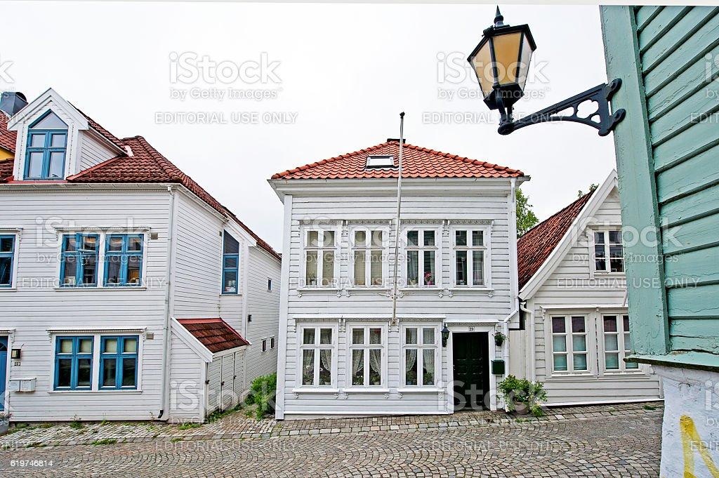 Light in Hordaland, Bergen, Norway stock photo