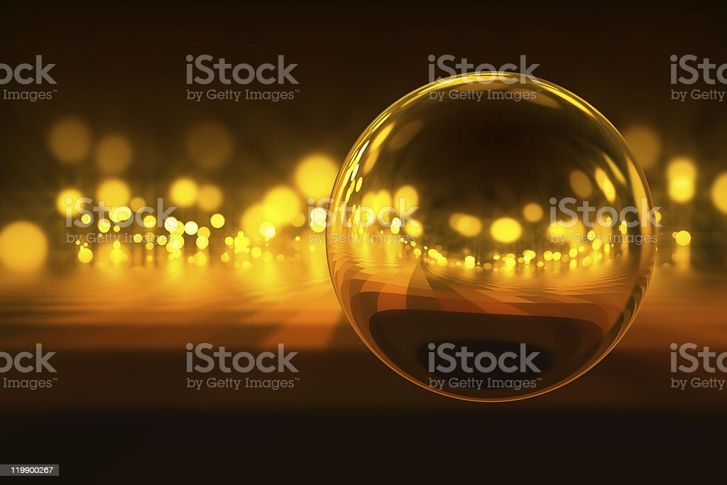 Light in night royalty-free stock photo