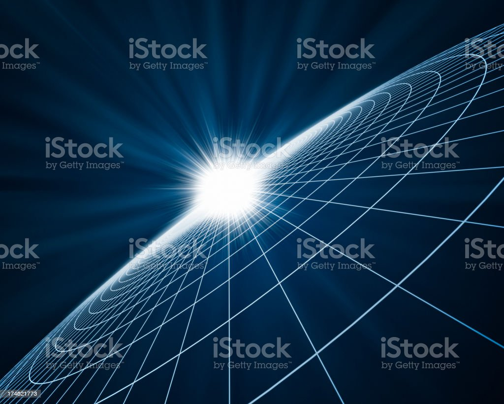 Light in Space XL+ stock photo
