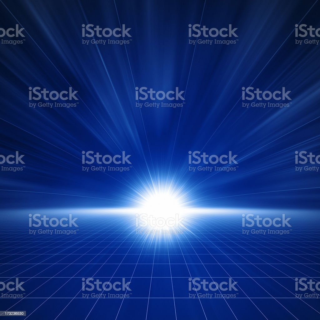 Light in Space XXL stock photo