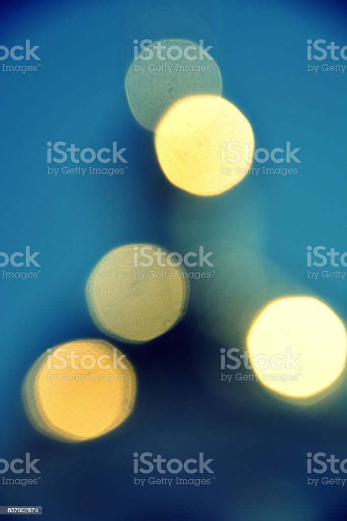light in the blur стоковое фото
