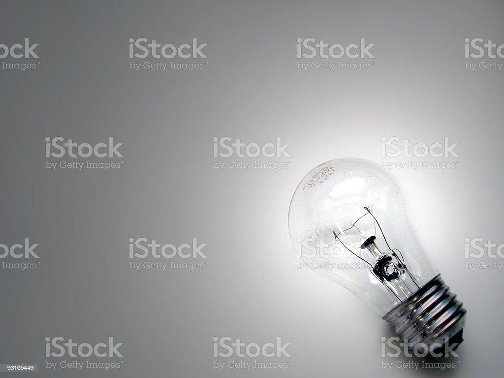 Light in the corner royalty-free stock photo