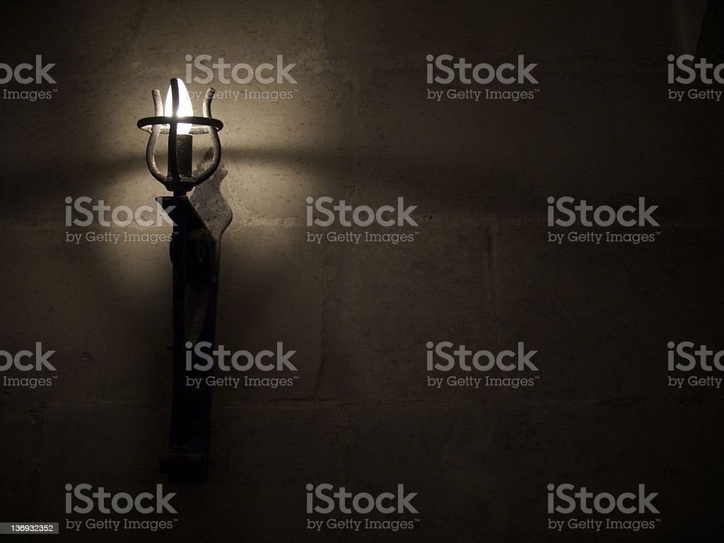 Light in the Dark royalty-free stock photo