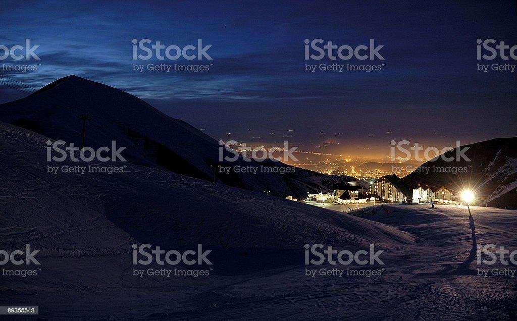 light in the night royaltyfri bildbanksbilder