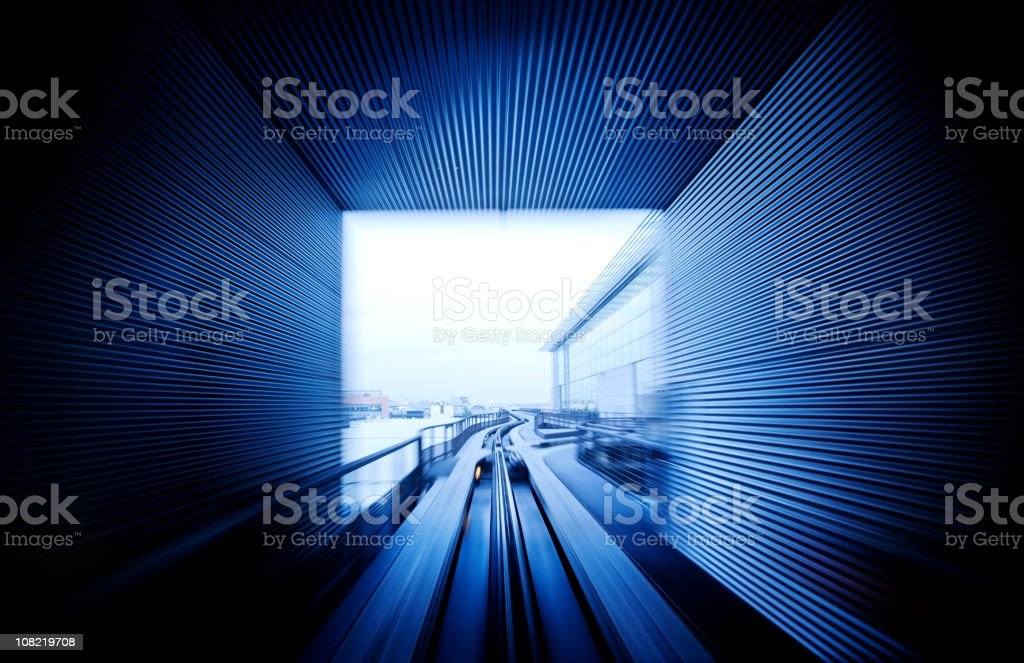 Light in the Tunnel royalty-free stock photo