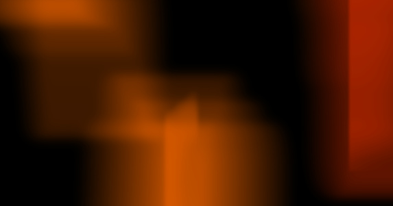 Light Leak Burn on Black Background
