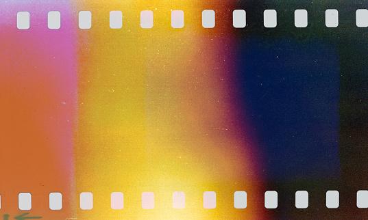Light Leaks From Vintage Camera