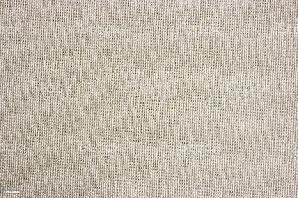 Light linen canvas texture stock photo