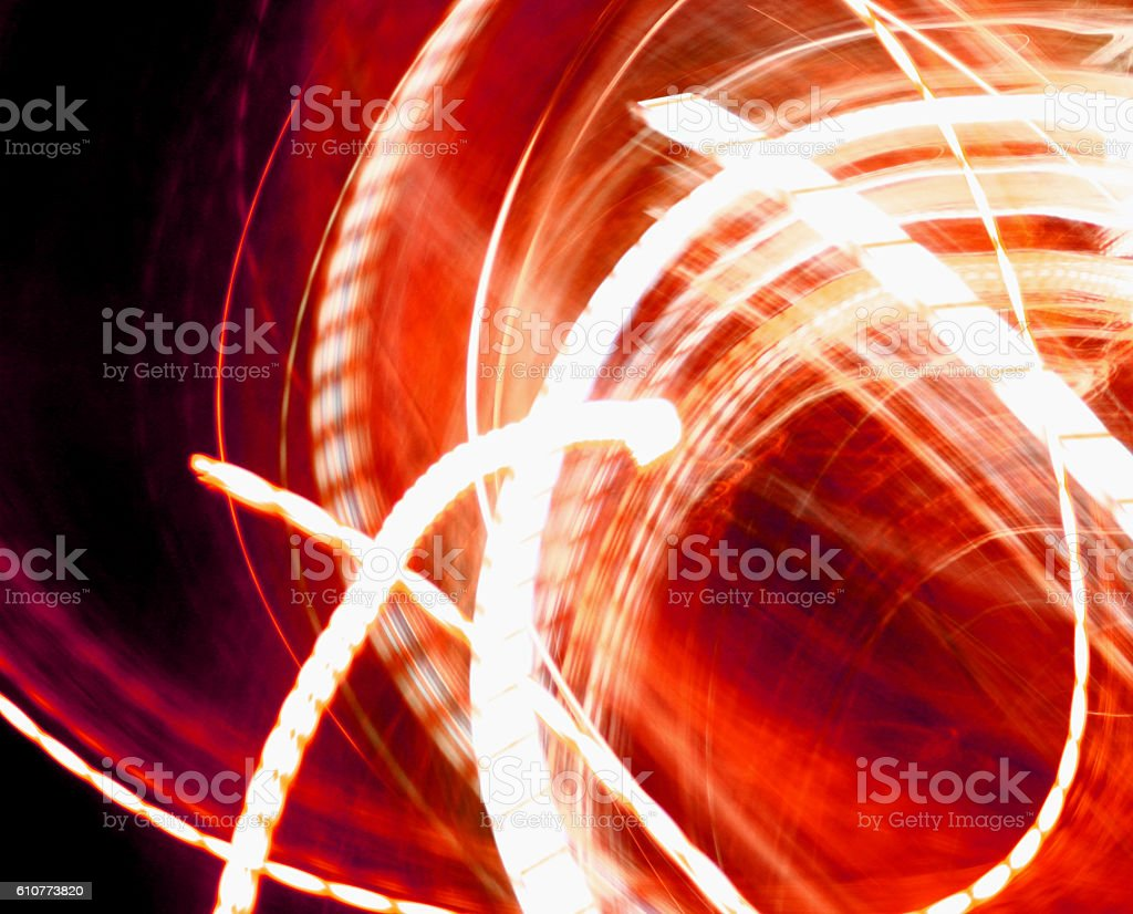 LED Light Lines stock photo