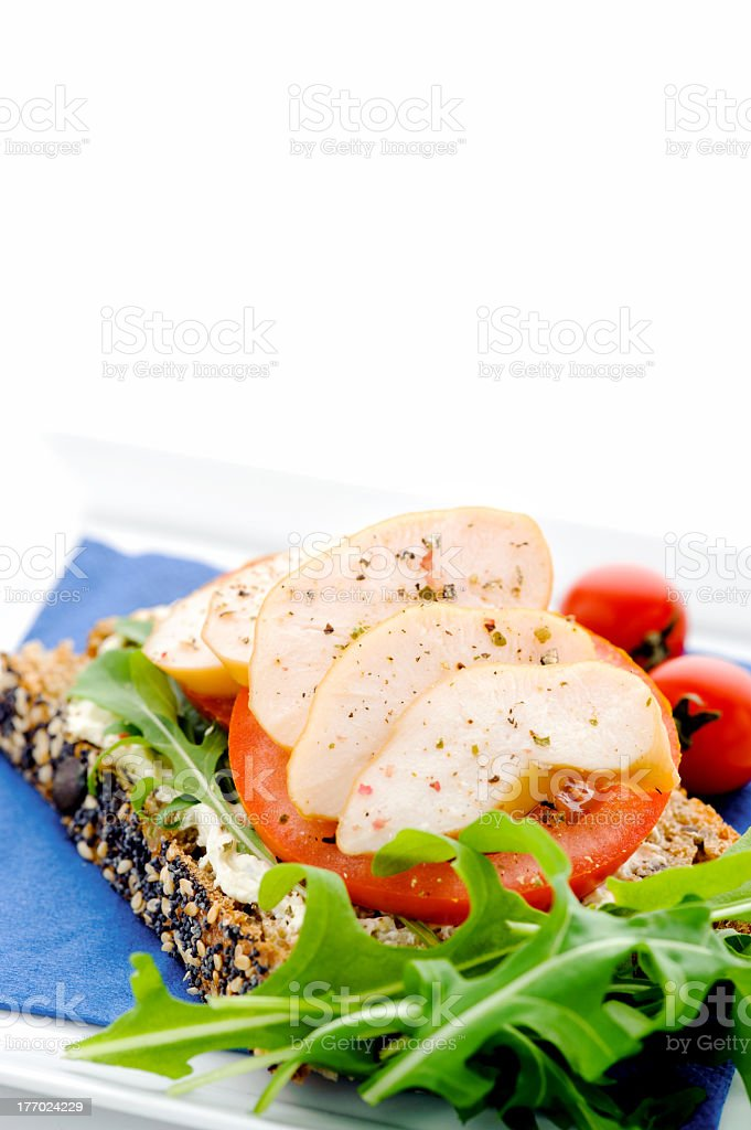 Light lunch option stock photo