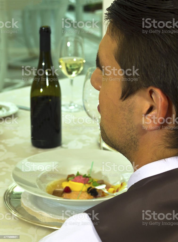 Light Lunch royalty-free stock photo