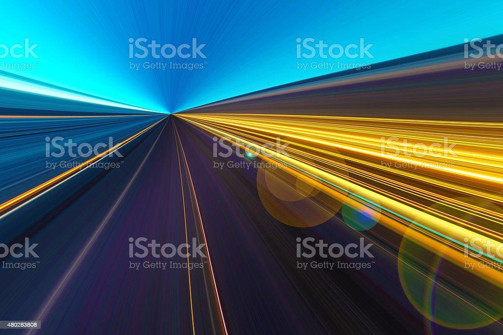 light motion stock photo