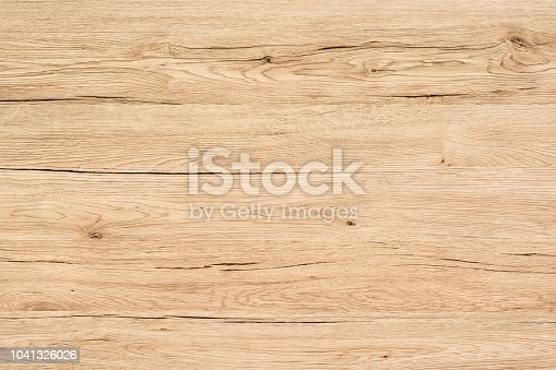 Light natural wood board composed of five logs. All boards have a strong clear texture of wood. Scratches, cracks and other damages are strongly expressed. Some contain knots. A wood grain pattern featuring even grains of wood running vertically across the image.