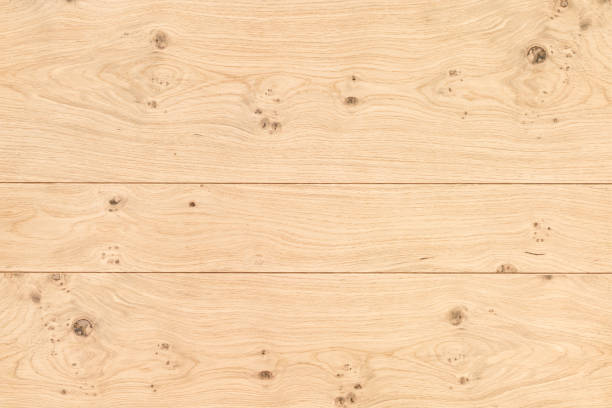Light natural wood background stock photo