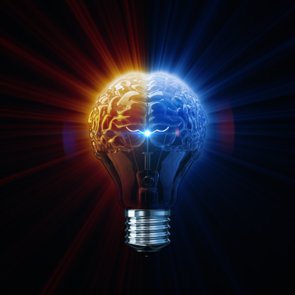 Intelligence concept. 3D render.