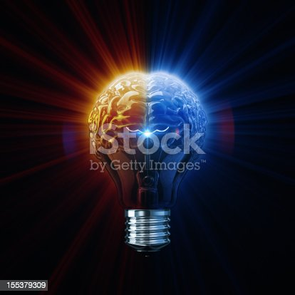istock Light Of Brainstorm 155379309