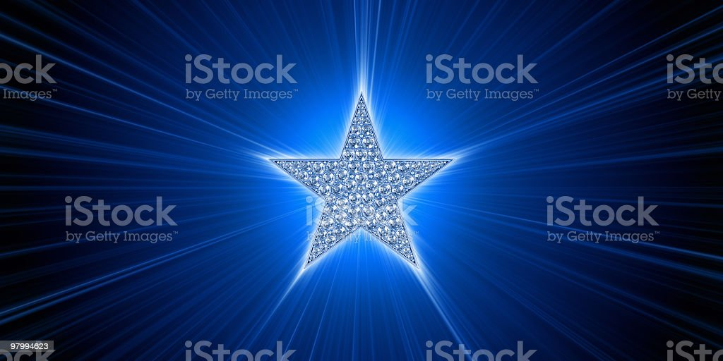 Light of Cinema Star royalty-free stock photo