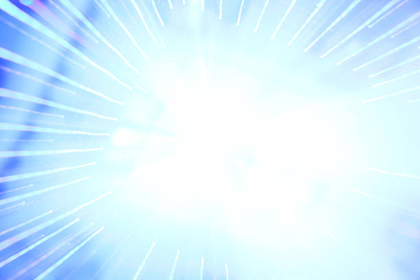 Light of Science stock photo