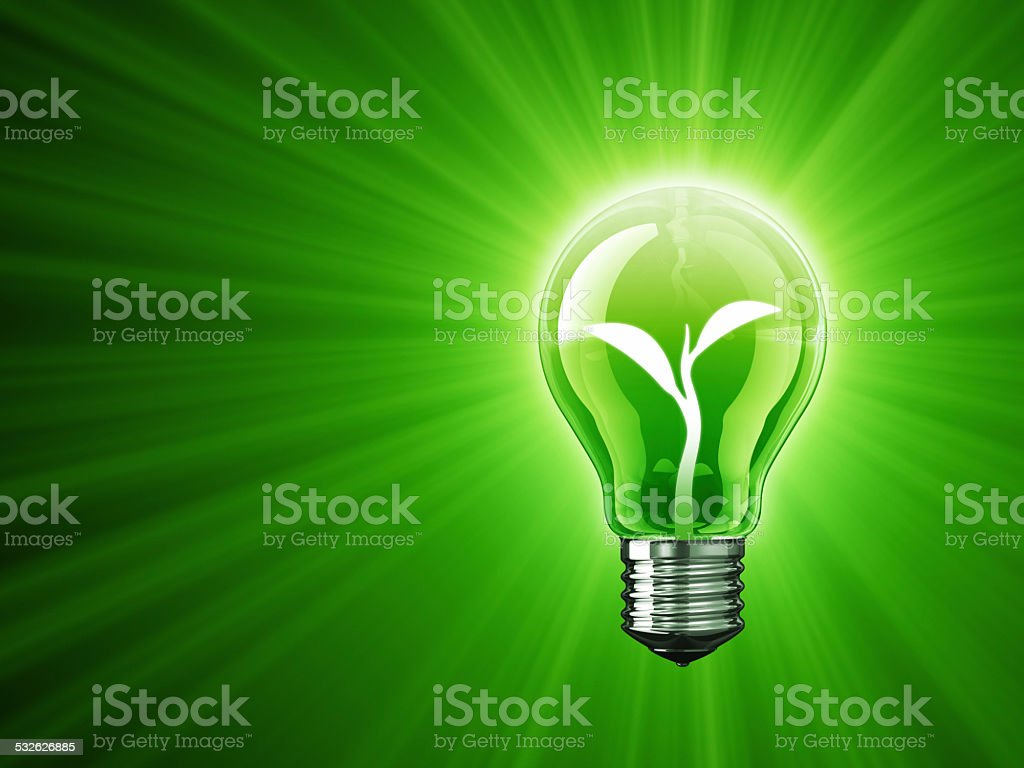 Light of Sprout stock photo