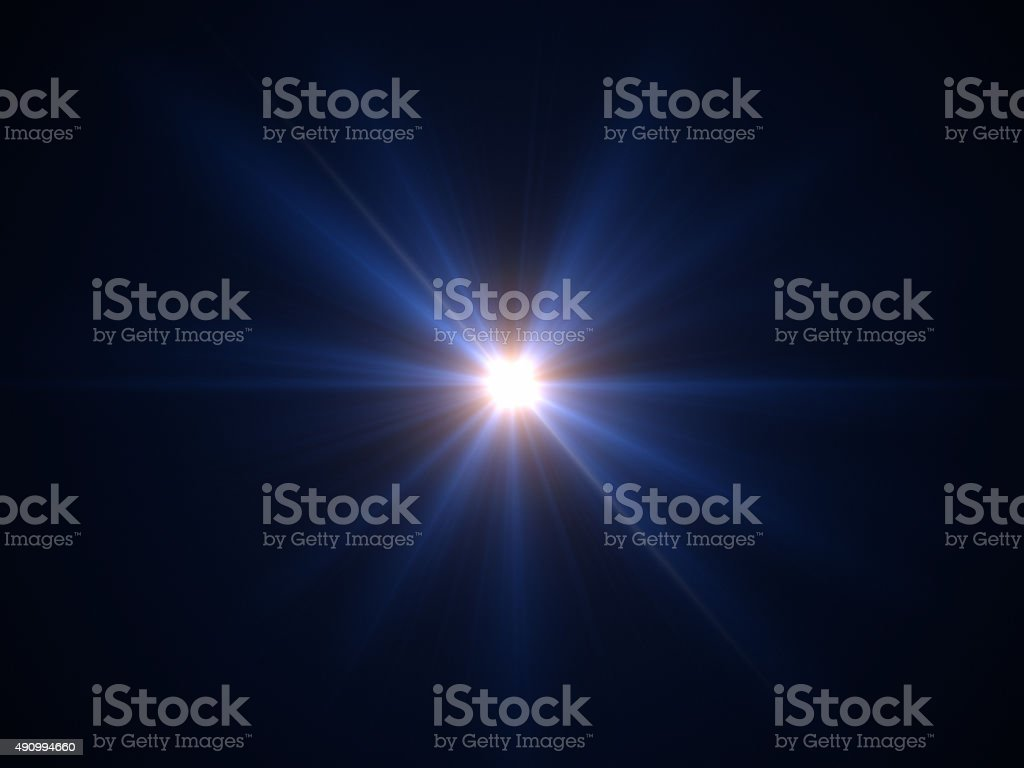 Light of Star stock photo