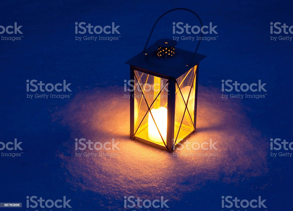 Light of the Night royalty-free stock photo