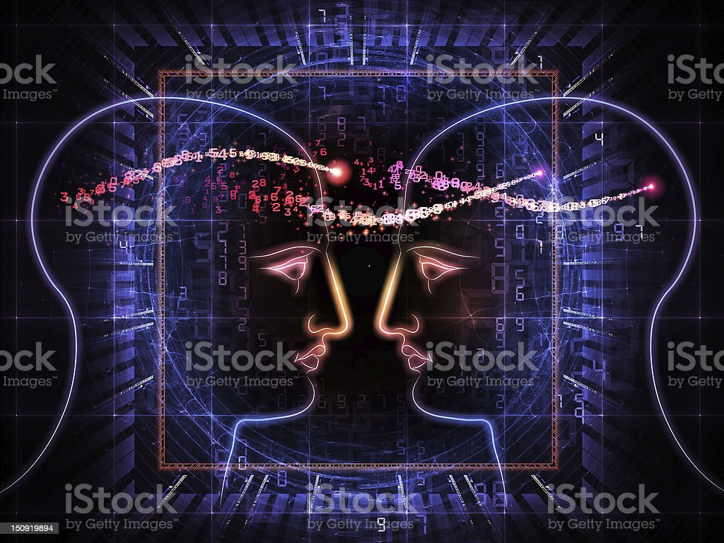 Light of thought royalty-free stock photo
