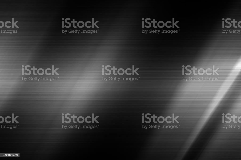 Light on black steel texture stock photo