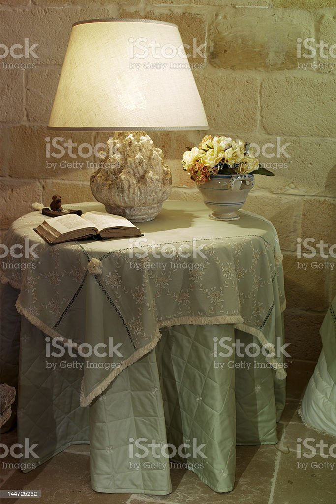 Light on book royalty-free stock photo