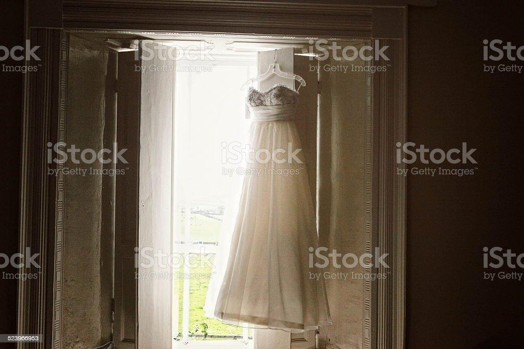 Light on the Dress stock photo