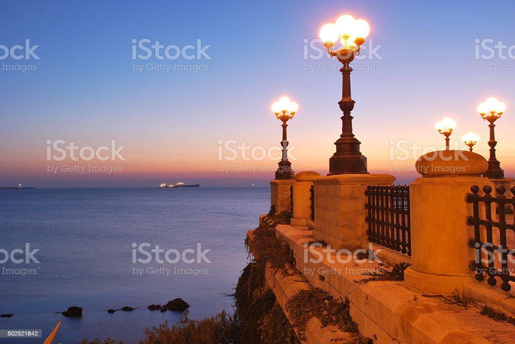 Light over the Sea stock photo