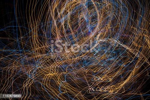 96824512istockphoto Light Painting Effect 1152876893