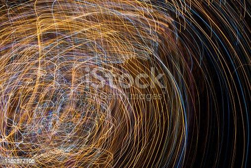 96824512istockphoto Light Painting Effect 1152877105