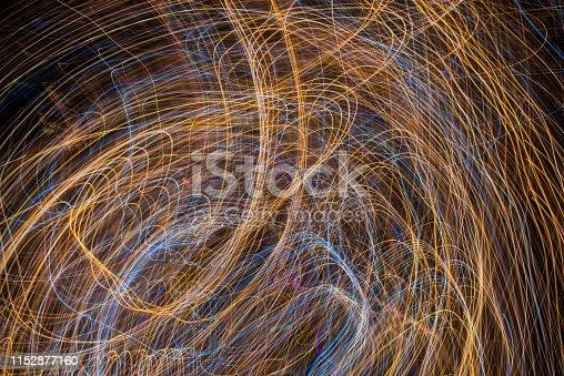 96824512istockphoto Light Painting Effect 1152877160