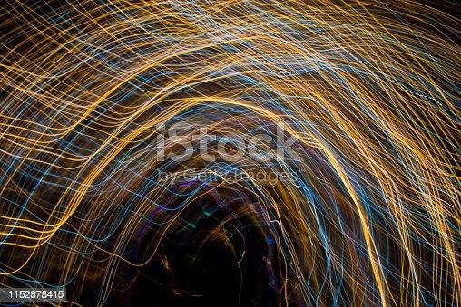 96824512istockphoto Light Painting Effect 1152878415