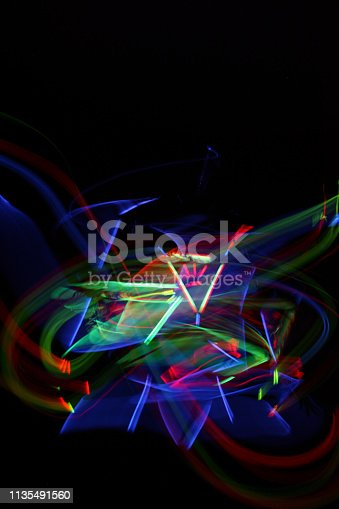 Light Painting in Human form